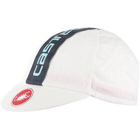 Castelli Retro 3 Czapka, 50's washed white/anthracite